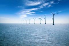 Azienda agricola di vento di terra immagini stock libere da diritti