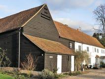 Azienda agricola di verde di Micklefield, Hertfordshire immagine stock libera da diritti