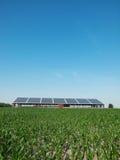 Azienda agricola e comitato solare Immagine Stock