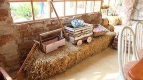 Azienda agricola ed amore Fotografie Stock
