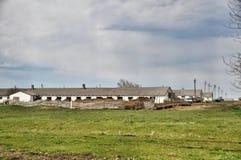 Azienda agricola enorme Immagini Stock
