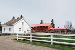 Azienda agricola finlandese Fotografia Stock Libera da Diritti