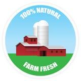 Azienda agricola fresca Immagini Stock