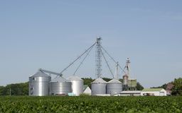 Azienda agricola moderna Immagini Stock