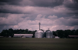 Azienda agricola moderna Immagine Stock