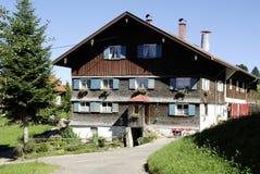 Azienda agricola nel Allgaeu in Baviera Fotografie Stock