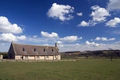Azienda agricola nel Cotswold. L'Inghilterra Fotografie Stock