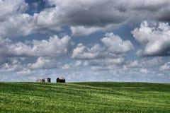 Azienda agricola nel paese Fotografia Stock