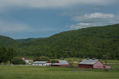 Azienda agricola nel virginiaq rurale fotografie stock libere da diritti
