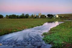 Azienda agricola nella contea Pensilvania di Berks Fotografia Stock Libera da Diritti
