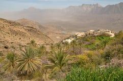 Azienda agricola Omani tradizionale immagini stock