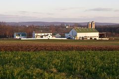 Azienda agricola in Pensilvania Fotografie Stock