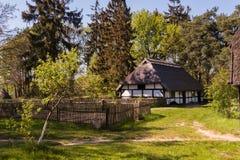 Azienda agricola in Polonia Fotografie Stock Libere da Diritti