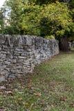 Azienda agricola posta asciutta di Along Historic Horse del recinto della roccia - luccio di Parigi, Kentucky centrale Immagine Stock Libera da Diritti