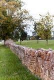 Azienda agricola posta asciutta di Along Historic Horse del recinto della roccia - luccio di Parigi, Kentucky centrale Fotografia Stock Libera da Diritti