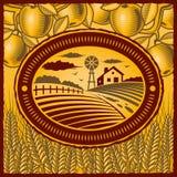 azienda agricola retro Fotografia Stock Libera da Diritti