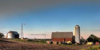 Azienda agricola rurale Fotografia Stock Libera da Diritti