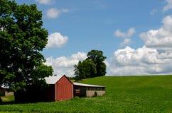 Azienda agricola rurale del Michigan Fotografie Stock