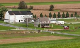 Azienda agricola rurale della Pensilvania fotografia stock libera da diritti