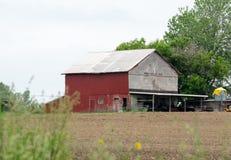 Azienda agricola rurale nel Michigan Immagini Stock