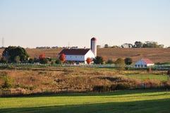 Azienda agricola scenica della contea di Lancaster Immagine Stock Libera da Diritti
