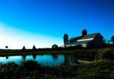 Azienda agricola scenica pacifica Fotografia Stock