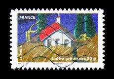 Azienda agricola, serie di agricoltura, circa 2011 Immagine Stock Libera da Diritti