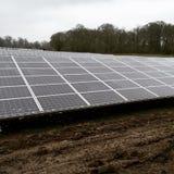 Azienda agricola solare Immagine Stock Libera da Diritti