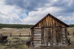 Azienda agricola storica del ranch di Colorado della fattoria di Hornbeck Immagini Stock