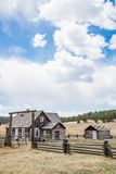 Azienda agricola storica del ranch di Colorado della fattoria di Hornbeck Fotografia Stock Libera da Diritti