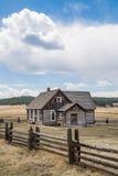 Azienda agricola storica del ranch di Colorado della fattoria di Hornbeck Fotografie Stock Libere da Diritti
