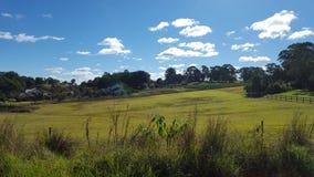 Azienda agricola - superficie in acri - terra immagini stock libere da diritti