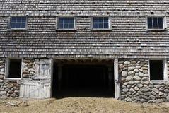 Azienda agricola: vecchio seminterrato del granaio Fotografia Stock