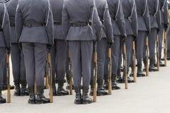 Azienda dei soldati Fotografia Stock