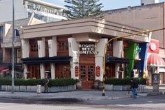 Azienda della birra di Bogota Fotografia Stock