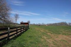 Aziende agricole della Virginia Immagine Stock Libera da Diritti