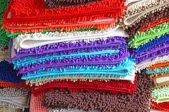 Łazienka dywaniki Obrazy Stock