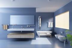 łazienka nowożytna Zdjęcie Royalty Free