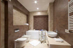 łazienka omfortable Zdjęcie Stock