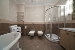 łazienka projektant Obrazy Royalty Free