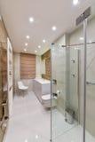 Łazienka z prysznic Obraz Royalty Free