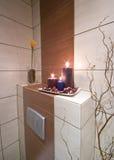 łazienki dekoracja Fotografia Royalty Free