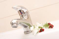łazienki faucet Obraz Royalty Free