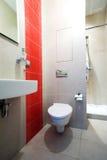 łazienki lustra niecki prysznic Obrazy Stock