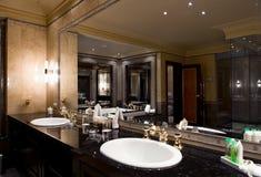 łazienki wnętrza luksus Zdjęcia Stock