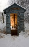 łazienki zimno Fotografia Stock