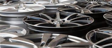 Azionamenti dell'automobile Fotografia Stock