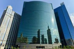 Azionamento ad ovest di 333 Wacker - Chicago Fotografie Stock