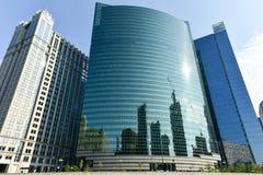 Azionamento ad ovest di 333 Wacker - Chicago Fotografia Stock Libera da Diritti