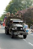 Azionamento dei veicoli di guerra mondiale 2 da 4 immagine stock